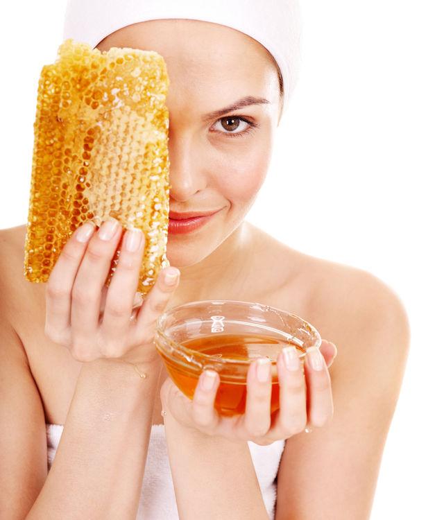 Mască cu miere