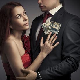 Femeie profitoare