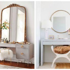Cum să-ți amenajezi măsuța de toaletă perfectă. 20 de idei