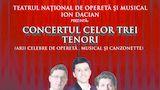Trei tenori în concert la Ploiești