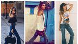 Cum să porţi blugii evazaţi? 20 de outfituri pe care trebuie să le încerci