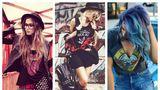 Ce să porţi ca să ai un look rebel, dar chic? 20 de outfituri de vară