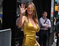 Heidi Klum, strălucitoare la 44 de ani: Vedeta arată fantastic într-o rochie aurie
