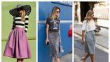 Cu ce să combini fusta midi? 20 de outfituri pentru vară