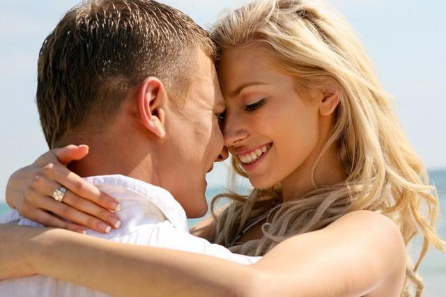Mischievous couple making love