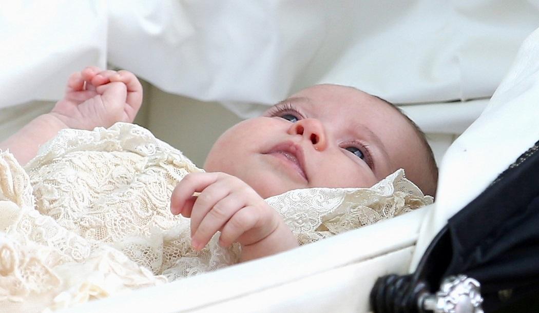 Botezul fastuos al Printesei Charlotte, în 30 de imagini adorabile