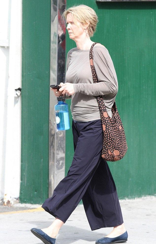 Fără machiaj, fără glamour: Miranda, din