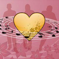 Felicitare Love - 1149