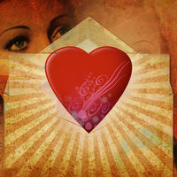 Felicitare Sf. Valentin - 1561