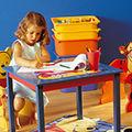 Pune-i pe copii sa te ajute la organizarea propriilor camere!