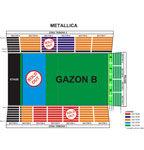 S-au epuizat biletele din trei zone pentru concertul Metallica
