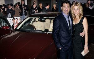 Patrick Dempsey a ajuns la premiera filmului sau intr-un superb Maserati