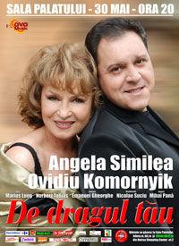 Angela Similea si Ovidiu Komornik - in turneu