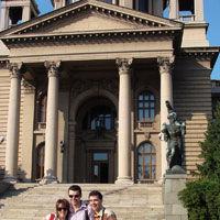 Nico si Vlad viziteaza Belgrad-ul