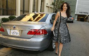 """Charlotte din """"Totul despre Sex """" intr-un BMW Hydrogen 7"""