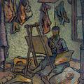 """Expozitia """"Atelierul. Modelul. Pictorul"""" la MNAR"""