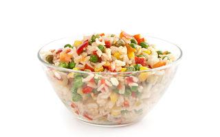 Salata de orez cu ardei