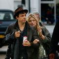 Kate Moss, discutie cu Pete