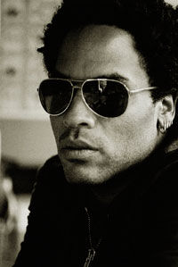 Lenny Kravitz este un tata model