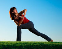 Tonifica-ti bustul prin exercitii in aer liber!