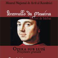 """Capodopera """"Portret de barbat"""" de Antonello da Messina, la MNAR"""