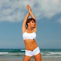 In forma la mare: inot si exercitii pe plaja