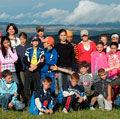 Copiii din Saschiz descopera salbaticia dealurilor