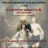 """""""Cvartet pe panza"""" la MNAR"""