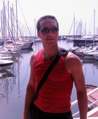Adrian Bucur, in vacanta pe Coasta de Azur