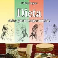 """""""Dieta celor patru temperamente"""", de Dr. Paul Dupont"""