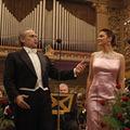 Soprana Alexandra Coman canta alaturi de Jose Carreras la Sala Palatului