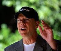 Bruce Willis, la debut