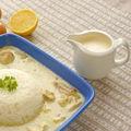 Cartofi cu lamaie si crema dulce de usturoi