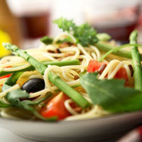 Spaghettini cu salvie