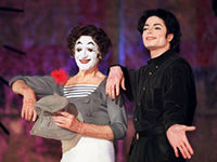 Michael Jackson, o umbra