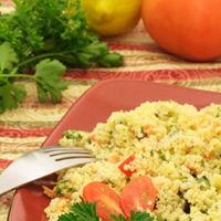 Salata algeriana cu chiftelute de miel