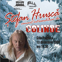 Concert extraordinar de Colinde, sustinut de Stefan Hrusca