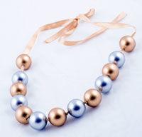 Colier de perle pentru o zi de sarbatoare