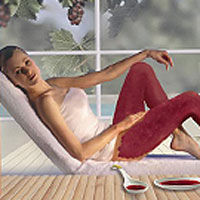 Scapa de celulita, prin vinoterapie