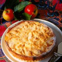 Tarta frantuzeasca cu mere si caramel