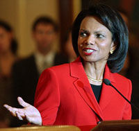 Vreun pretendent pentru Condoleezza Rice?