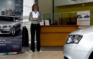 Audi a introdus prima asistenta holografica din lume