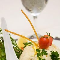 Salata de tofu si conopida cu sos de arahide
