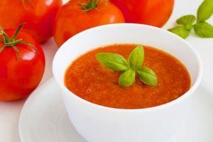 Supa de rosii cu soia