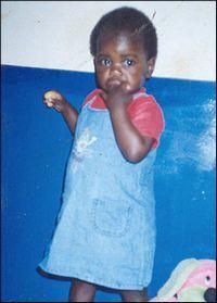 Bunica fetitei din Malawi: