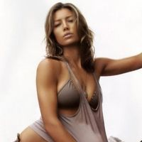 Jessica Biel face striptease