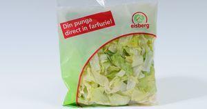Salata Eisberg, excelenta in combinatie cu somon afumat