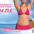 Contureaza-ti silueta in doar 14 zile cu Nestlé Fitness!