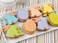 Biscuiti in forma de iepurasi