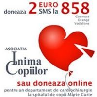 Doneaza 2 euro, prin SMS, pentru copiii cu probleme cardiace